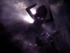Quando você ouve o nome Galactus, sabe que a porra ficou séria