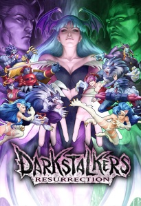 """Capa do Darkstalkers Resurrection""."