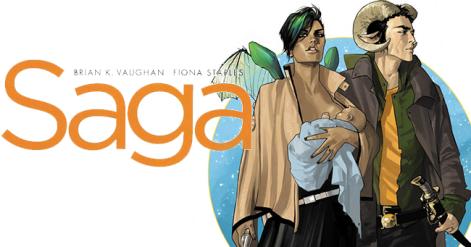 Saga, um exemplo de quadrinho diferente.