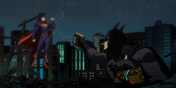 Sério Batman? Taser contra o Superman?